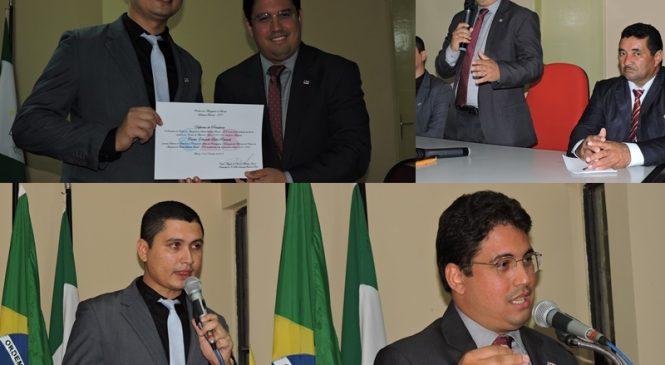 OAB/PI realiza evento em Joaquim Pires e empossa advogado em Subcomissão de Direito Agrário