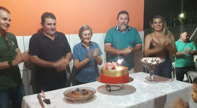 Prefeito Marcos Henrique comemora aniversário de sua mãe, Dona Lina Fortes