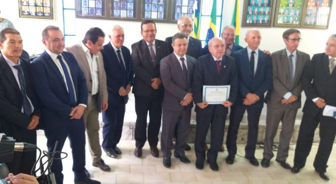 Câmara homenageou com título de cidadania batalhense, 03 desembargadores