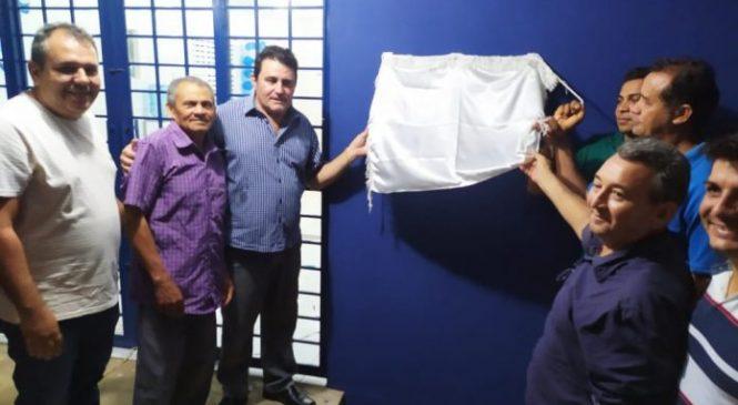 Prefeito Marcos Henrique entrega reforma e ampliação de UBS, da Vila São Pedro