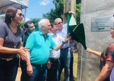 Governador W. Dias visita Esperantina e inaugura linha de transmissão da Equatorial