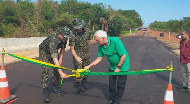 Ponte na BR 222, foi inaugurada na manhã deste sábado, 25