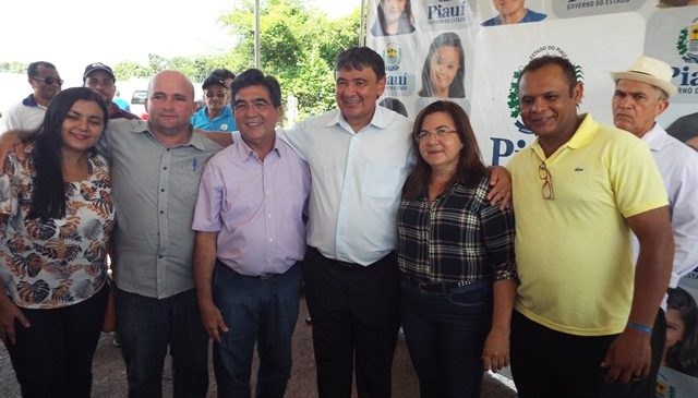 Prefeita Vilma Lima, acompanhou agenda de W. Dias e cobrou obras para São João do Arraial