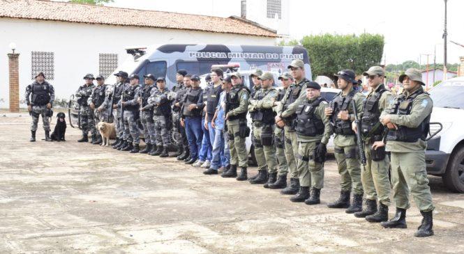 Policiais de quatro municípios fazem grande operação em Campo Largo