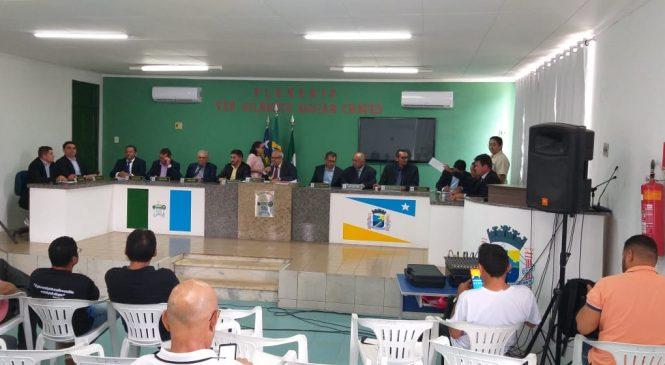 Lei Orçamentária 2020 foi votada e aprovada com mudanças durante sessão na câmara municipal
