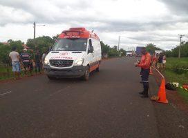 Mulher morre ao colidir sua moto com um automóvel entre Barras e Cabeceiras