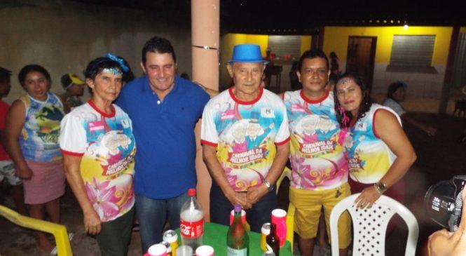 Veja como foi a abertura do carnaval do povo de Morro do Chapéu do Piauí