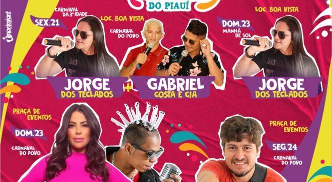 Prefeitura de Morro do Chapéu divulga programação do carnaval do povo