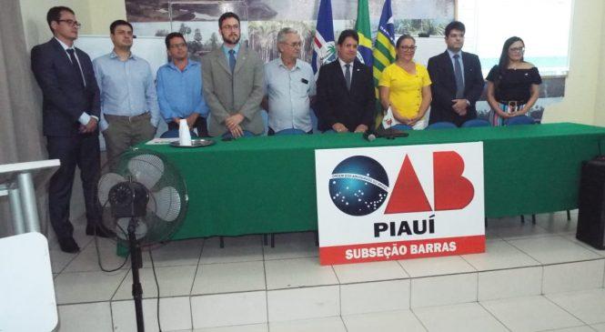 Caravana de Direito Eleitoral da OAB Piauí, realiza palestras sobre novas regras no pleito eleitoral