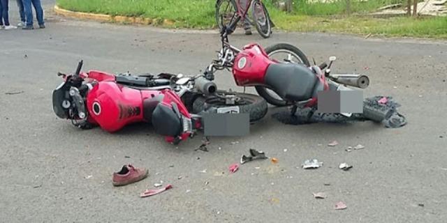 Colisão entre motos deixam duas pessoas mortas na cidade de União