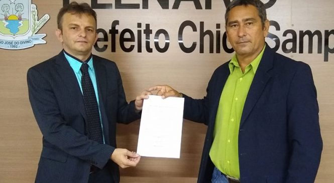 Novo prefeito de São José do Divino tomou posse por vidoeconferência