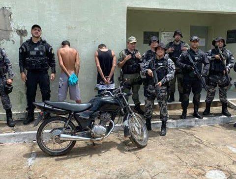 Polícia prende suspeitos de assassinar entregador de pizza em Luzilândia