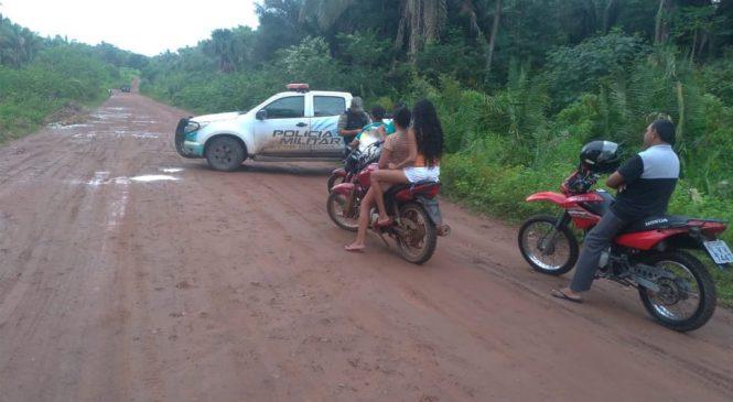 Polícia recupera armas e veículos durante operação na região dos cocais