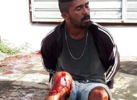Bandido é baleado após tentativa de assalto com refém em Porto
