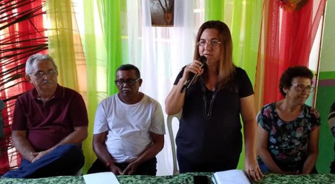 Em live, prefeita Vilma Lima destaca ações da Prefeitura de São João do Arraial no combate ao coronavírus