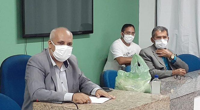 Vereador cobra ações mais intensas de combate ao Coronavirus em Esperantina