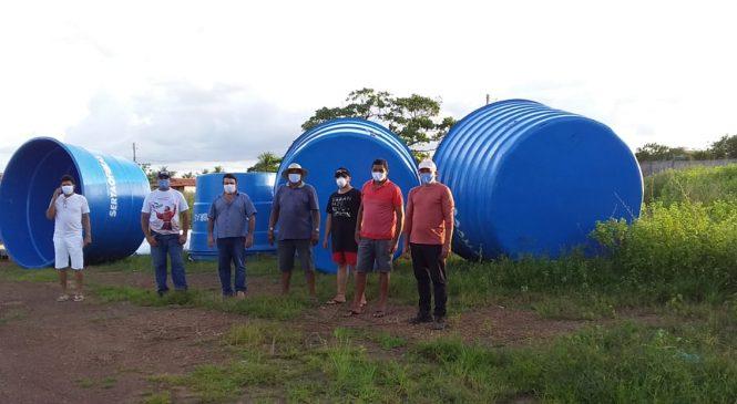 Morro do Chapéu do Piauí é contemplado com Caixas d'água e sistema de bombeamento