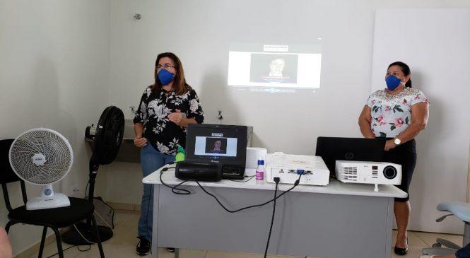 Covid-19: profissionais da Saúde de São João do Arraial recebem treinamento para atender pacientes
