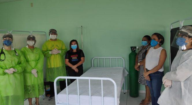 Prefeitura de São João do Arraial monta estrutura para atender pacientes com covid-19
