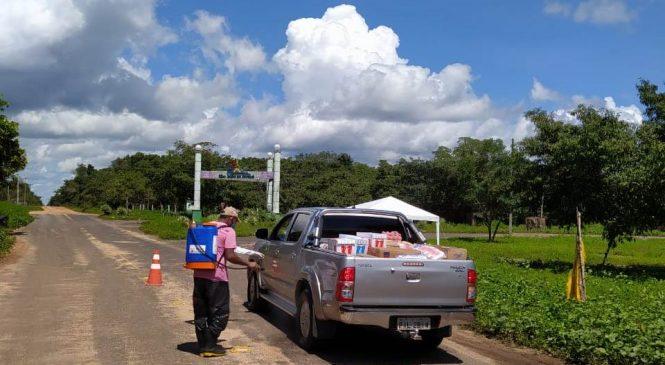 Covid-19: Prefeitura de São João do Arraial instala barreiras sanitárias para orientar a população