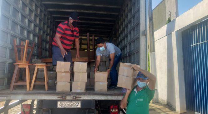 Prefeitura de Morro do Chapéu adquire materiais de limpeza e EPI´S para profissionais de saúde
