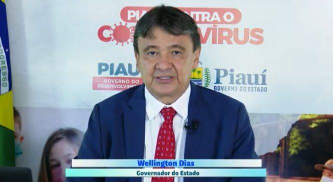 Governador não decretará lockdown neste fim de semana no Piauí