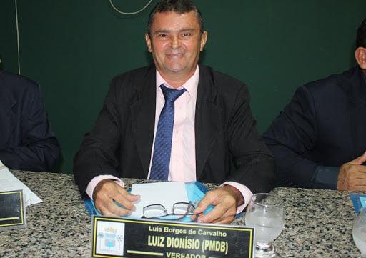 Vereador Luiz Dionísio é transferido para o Hospital de Piripiri após testar positivo para a COVID-19