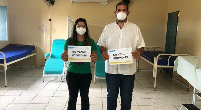 Prefeito Betão de Joca Marques recebe alta médica de cura clínica da COVID – 19