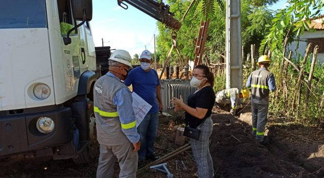 Prefeitura de São João do Arraial solicita postes e transformadores da Equatorial