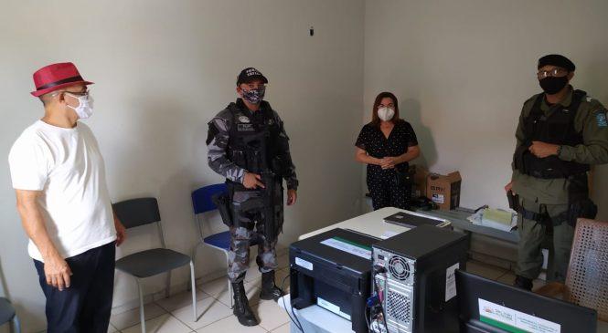Segurança: São João do Arraial recebe reforço da Polícia Militar da região dos Cocais