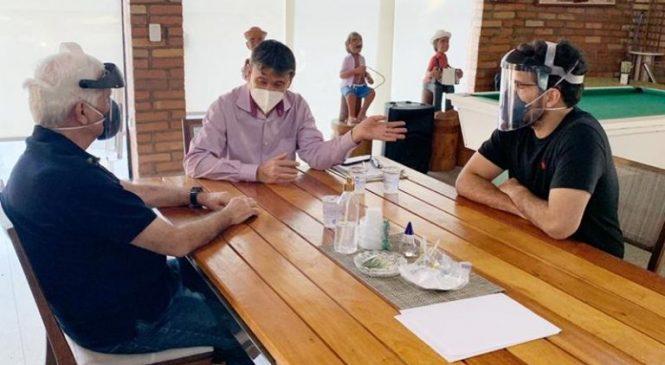 Themístocles Filho e Marcos Aurélio se reúne com governador e alinha obras
