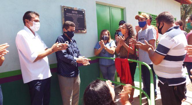 Prefeita Vilma Limma entrega UBS na zona rural