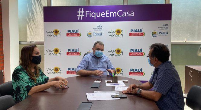 Prefeito Genival Bezerra se reúne com secretário de Saúde em Teresina