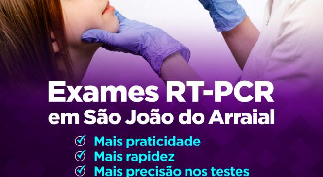 São João do Arraial agora tem realiza novos exames para detectar Covid-19