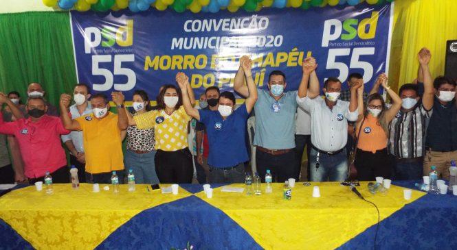 Marcos Henrique é candidato a reeleição pelo PSD em Morro do Chapéu do Piauí