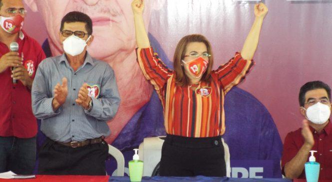 Vilma Lima lidera disputa para prefeitura de São João do Arraial
