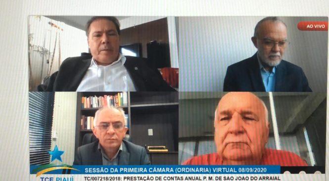 Tribunal de Contas aprova as contas de 2017 da prefeitura de São João do Arraial