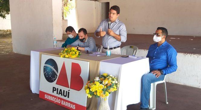 OAB/Subseção Barras realiza orientações sobre as novas regras das eleições de 2020