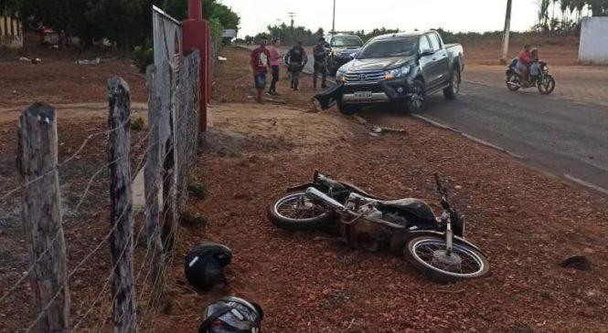 Dois homens de Joaquim Pires sofrem acidente na PI 211