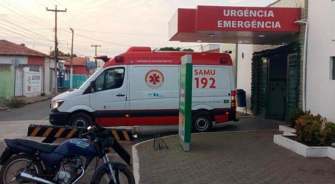 Noite de sábado com vários acidentes e trabalho intenso das equipes do Samu
