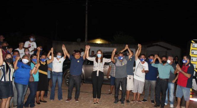 Candidato a prefeito de Esperantina Erasmo Silva abre sua campanha no residencial Alecrim