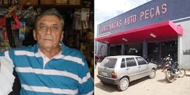 Morre em Teresina o empresário Das Chagas Auto Peças