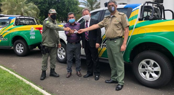 Cidade de Joaquim Pires recebe viatura 0 km para auxiliar no combate a criminalidade