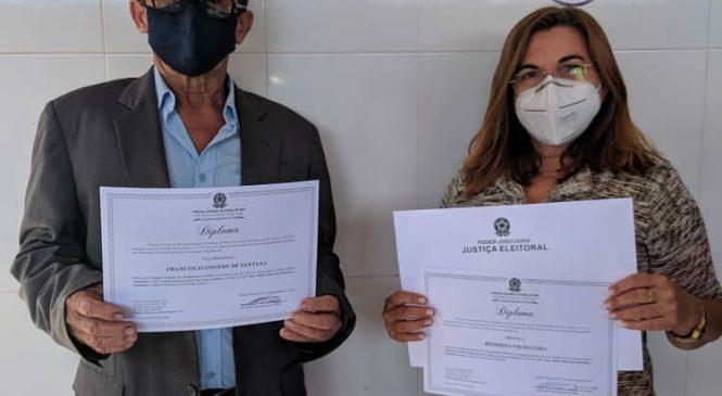 Prefeita reeleita de São João do Arraial Vilma Lima é diplomada pela Justiça Eleitoral