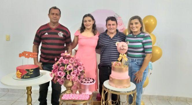 Vereador Mário Oliveira comemora aniversário em sua residência no Morro do Chapéu