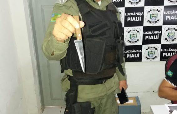Policia Militar prende homem acusado de tentativa de homicídio em Joaquim Pires