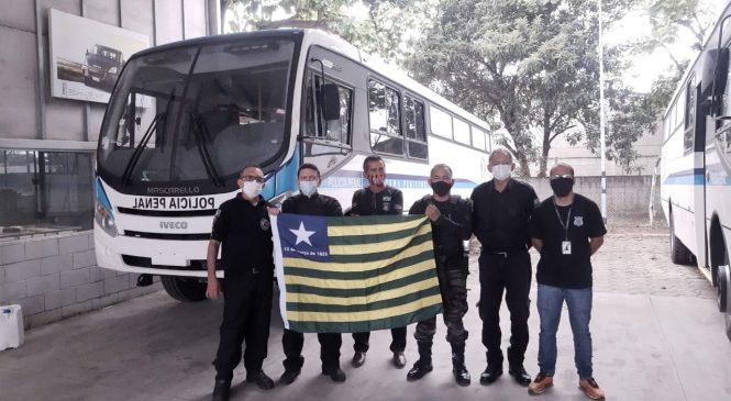 Governo do Piauí e Sejus vão entregar novas viaturas e ônibus ao sistema penitenciário