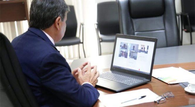 Em reunião com governador, AstraZeneca confirma 2 milhões de doses de vacina ainda em janeiro