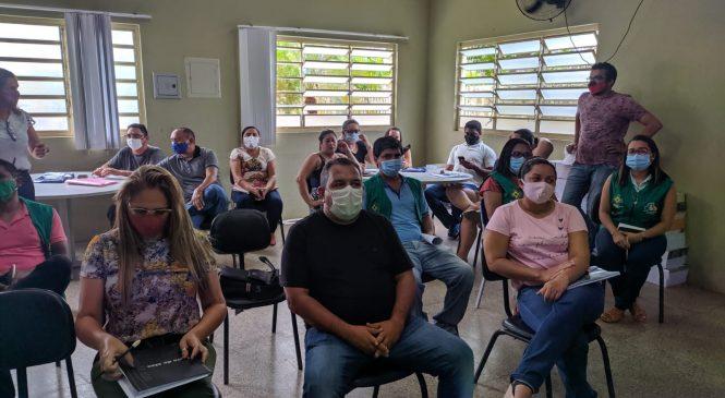 Secretaria de Educação e de Saúde de Morro do Chapéu do Piauí se reúnem para discutir protocolo de volta às aulas presenciais