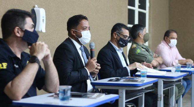 Sejus e órgãos de segurança pública discutem estratégias para combate ao crime organizado no Piauí